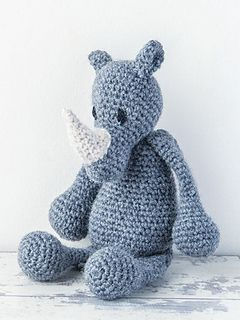 Available in Edward's Menagerie, a soft cover book featuring over 40 crochet animal patterns, designed by Kerry Lord.