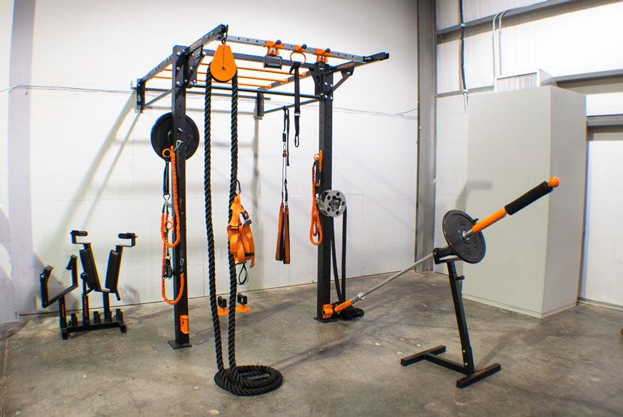 Wall mounted functional training platform from purmotion crypted