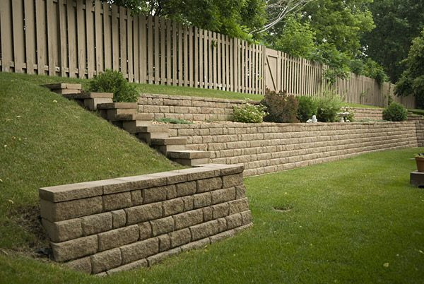 Retaining Wall Sharp And Straight Line Via Peter Doran Lawn Lawn And Landscape Landscape Design Lawn And Garden