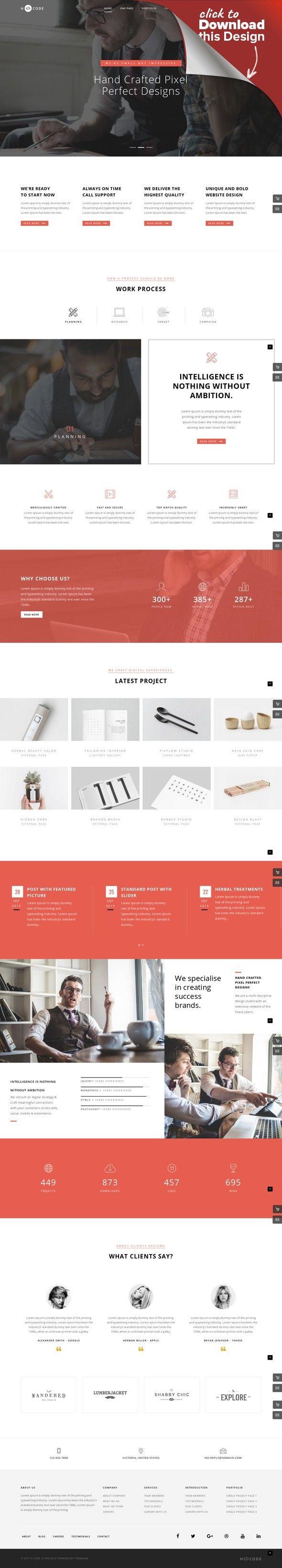 H-Code Responsive & Multipurpose WordPress Theme | Ecommerce store ...