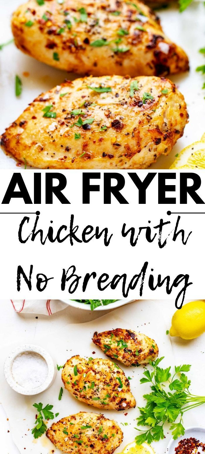 Air Fryer Chicken with No Breading -   19 air fryer recipes chicken boneless keto ideas