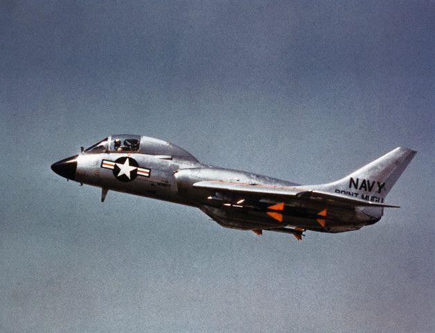 Usn F7u Cutlass 1950s Aircraft Us Military Aircraft Us Navy Aircraft