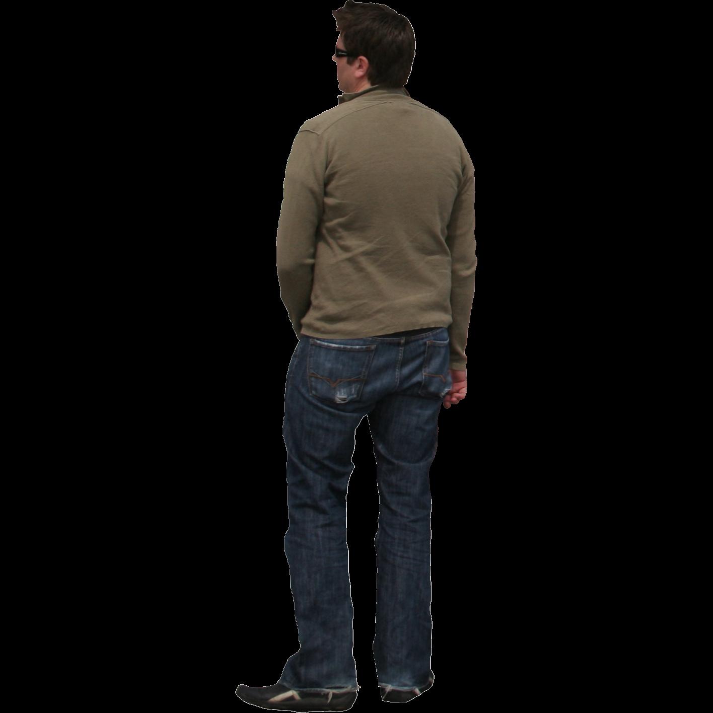 Http Www Immediateentourage Com Wp Content Uploads 2012 01 Back View Of Man In Jeans Png People Art Tutorials Man