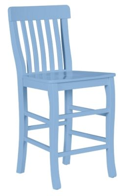 Cokie Counter Stool In Nikko Blue Maine Cottage