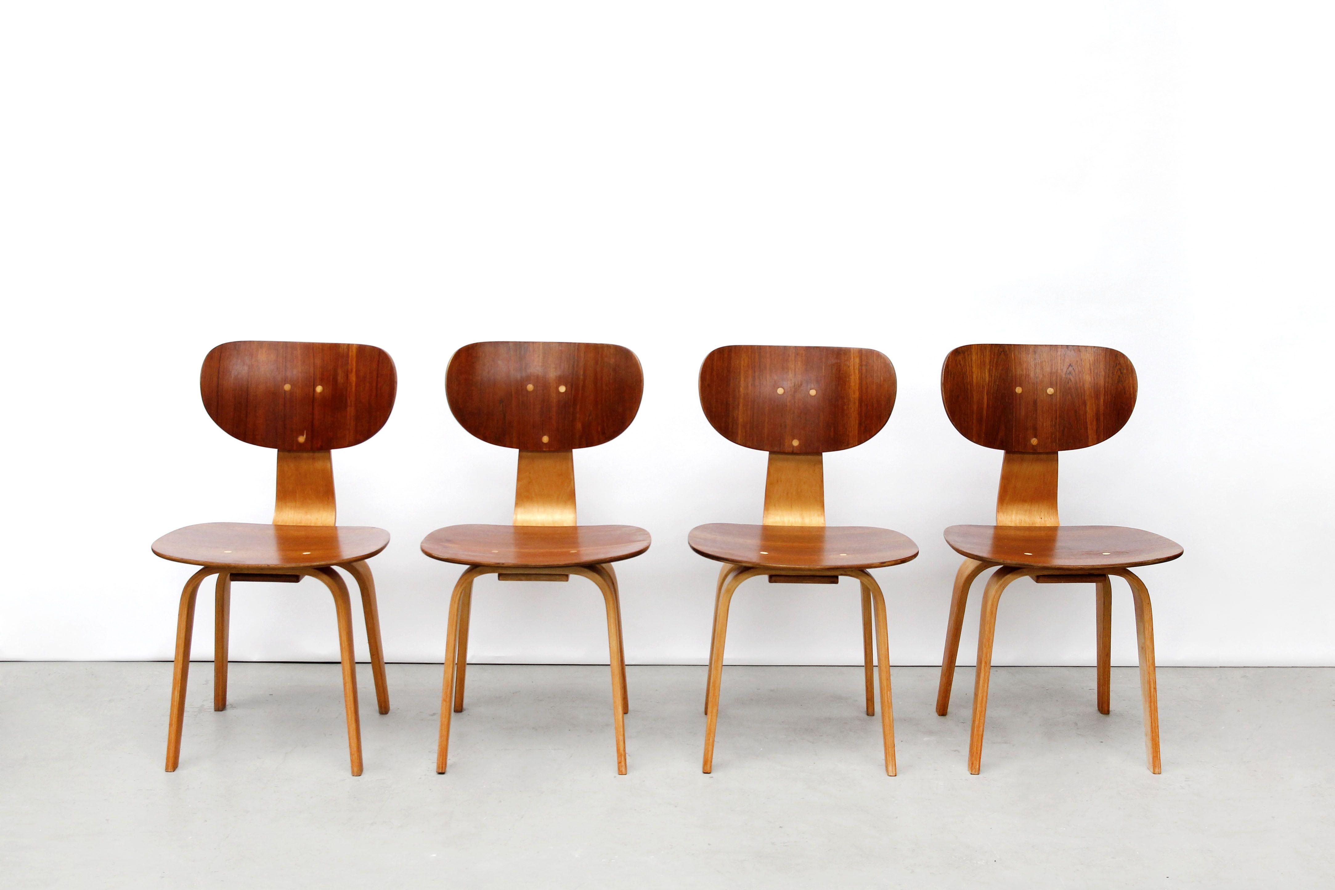 Design Pastoe Stoelen : Vier pastoe sb stoelen van cees braakman waiting rooms and room