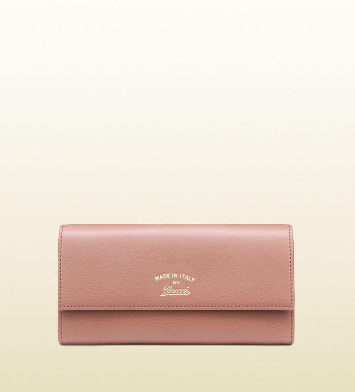 967fbc36e833 女性へのクリスマスプレゼント): Gucci 〔50周年限定〕コンチネンタルウォレット(フローラプリント ライニング)on ShopStyle.  ShopStyle (ショップスタイル) ...