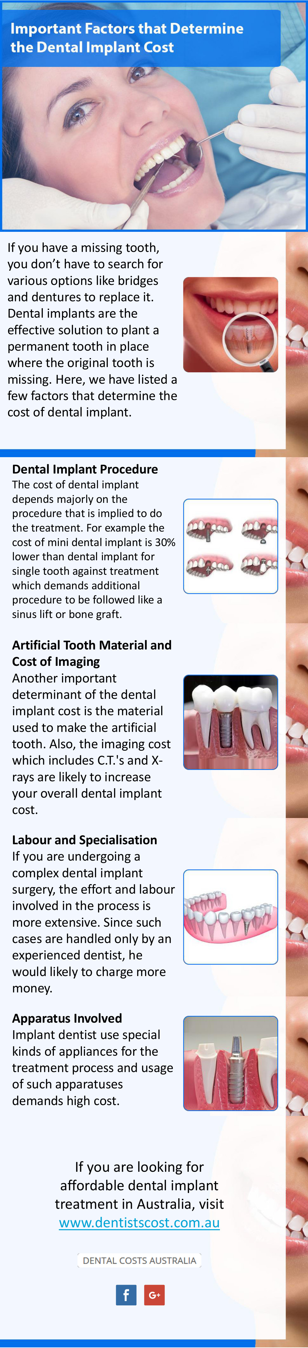 Important Factors that Affect the Dental Implant Cost in