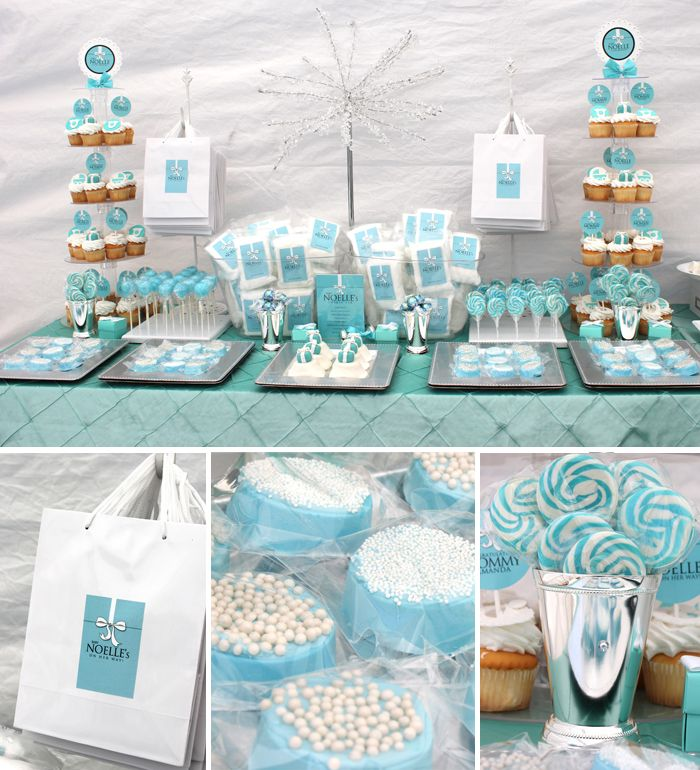 Baby Shower Sweets Bar By Soiree EventDesign.com
