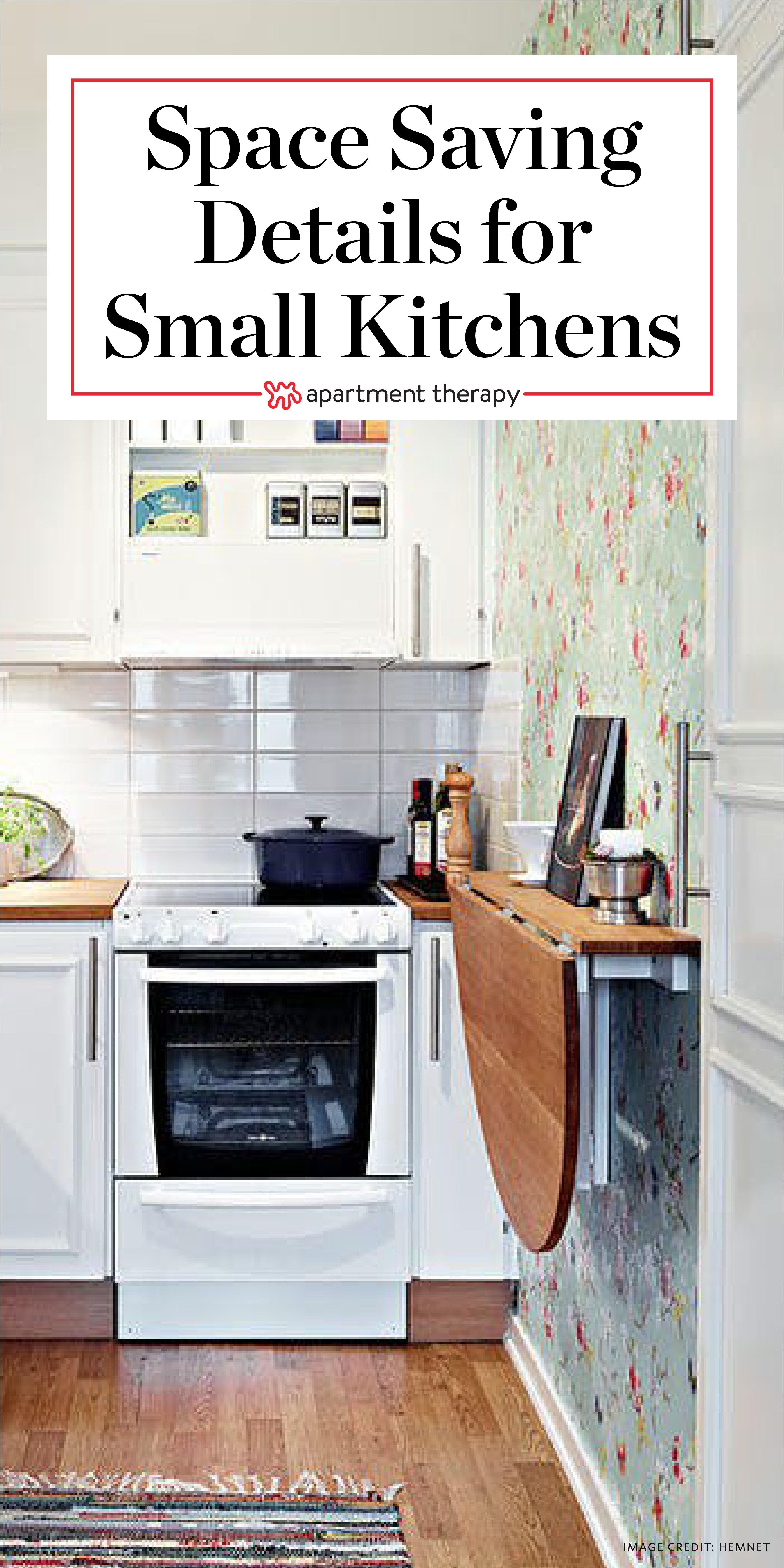Small Space Saving Kitchen Decor Color Schemes Ideas Color Decor Kitchen Space Saving Kitchen Small Apartment Kitchen Kitchen Storage Space