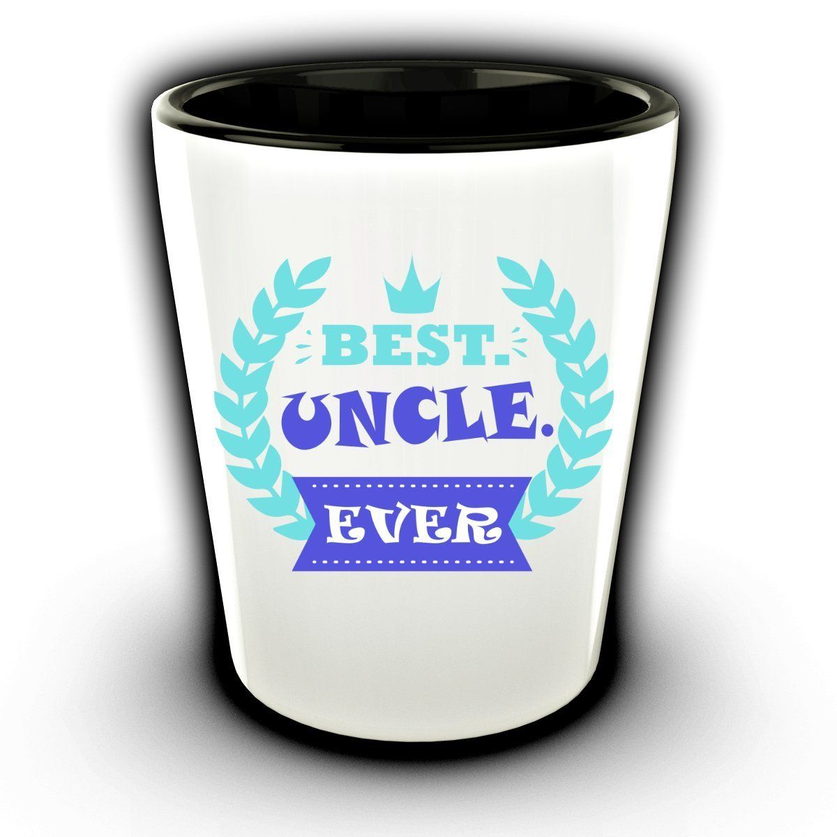 Amazon best uncle ever funny shot glass ceramic shot best grandpa ever funny shot glass ceramic shot glasses easter gifts cancun shot glass negle Images