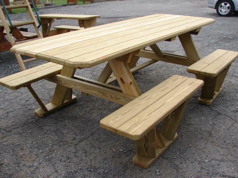 Einen Picknick Tisch selber bauen (Bauanleitung Intro)