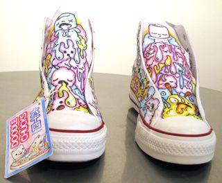Custom Chucks Show @ Pink Ghost | Supahcute