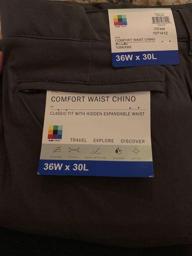 UNIONBAY Mens UB Tech Flex Waist Travel Chino Pants