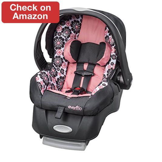 best car seat 2017 tops guide - Evenflo Embrace LX Infant Car Seat ...