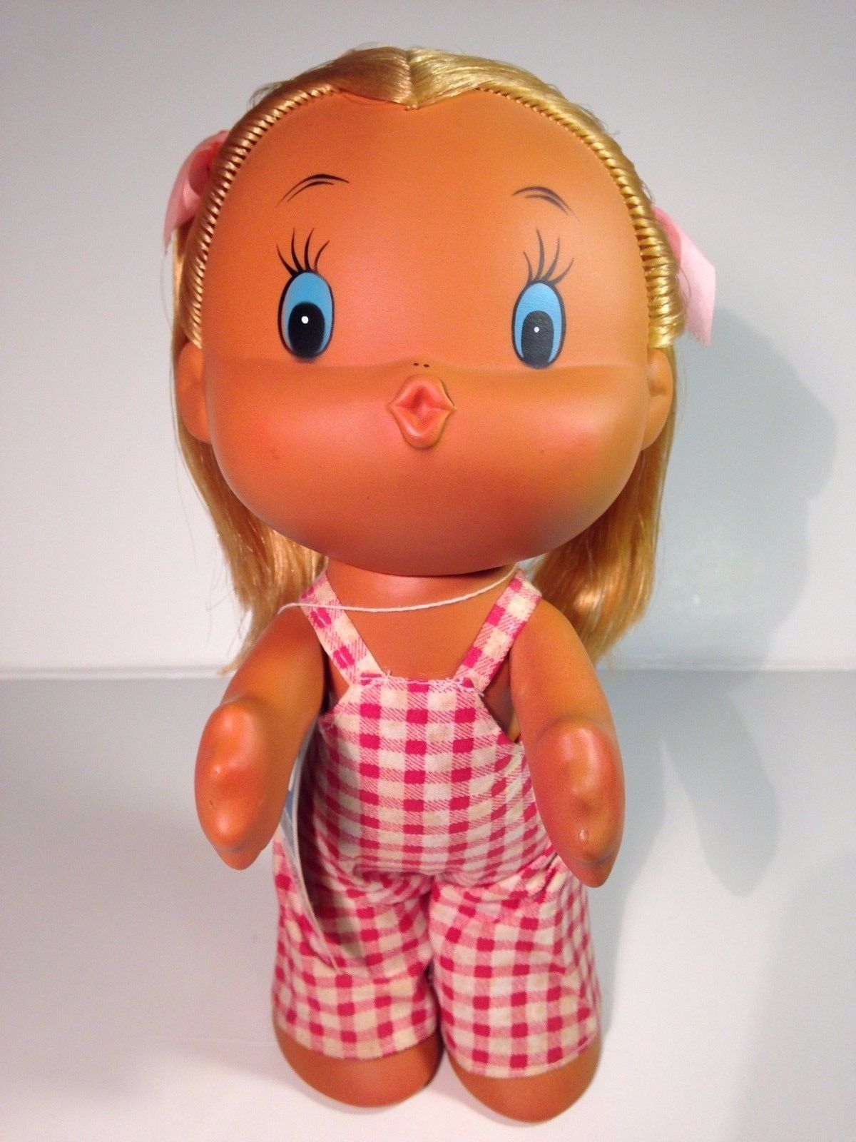 Vintage 60s 70s Kamar Another Wild Thing Kissy Kissing Plush Doll