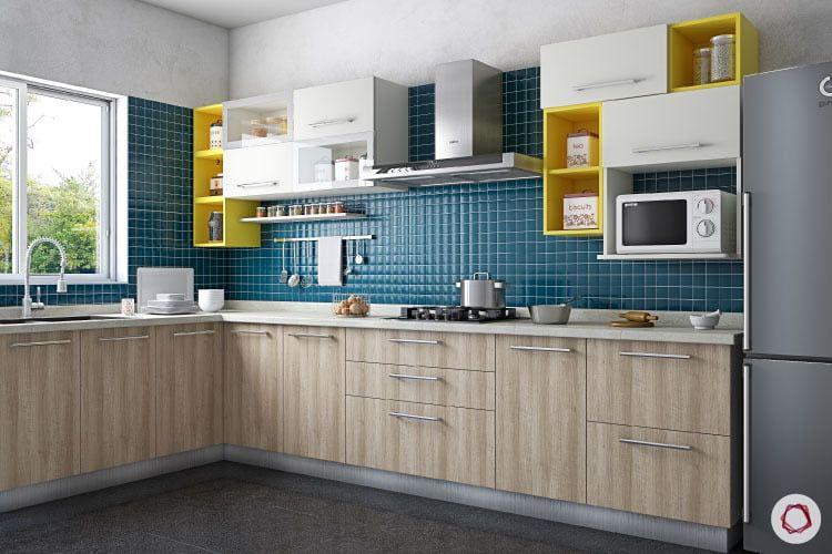 9 Backsplashes For A Visibly Larger Kitchen Kitchen Tiles Design