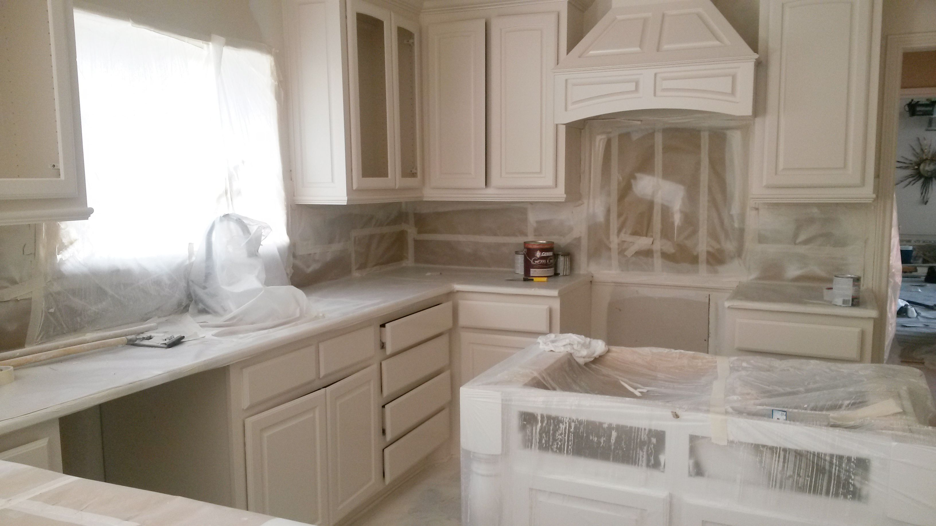 Kitchen Painting Process Dfw Painting Refinishing Cabinets Cabinet Kitchen Cabinets