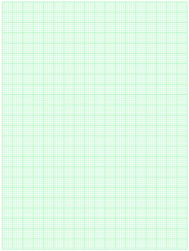 Graph Paper Green 5X5 Bold Blocked | Patterns Textures Background