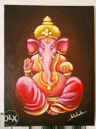 Ganesha paintings displayed at Olx - Google Search | Ganesha 'ART