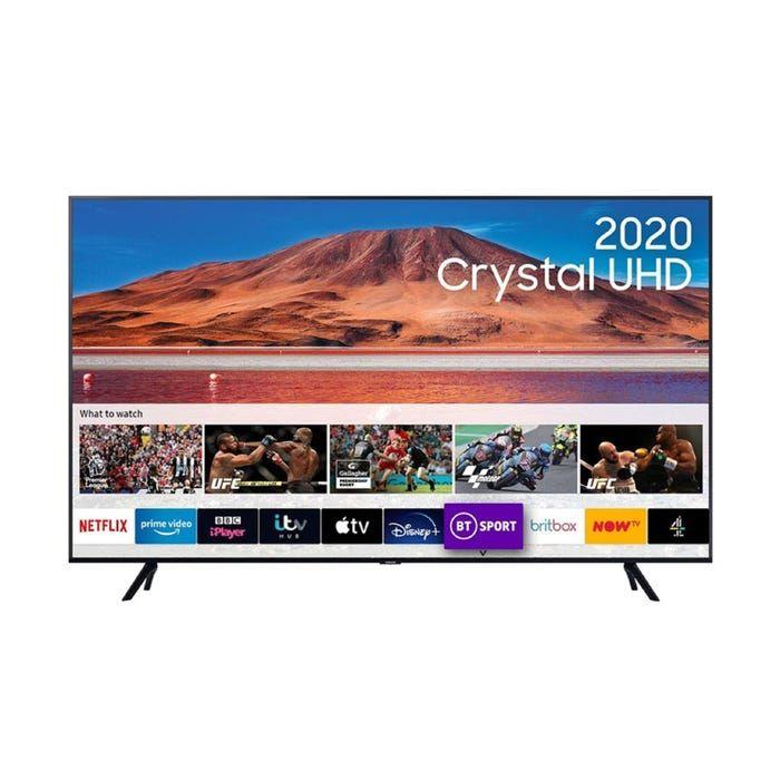 2020 Spesc Info Samsung Ue70tu7100 Hdr Smart Led Tv Apple Tv