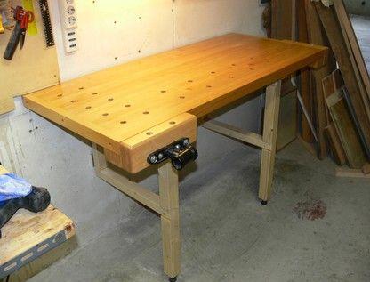 Banco Di Lavoro Falegname : Banco da falegname pieghevole il legno.it per lavoro o per hobby