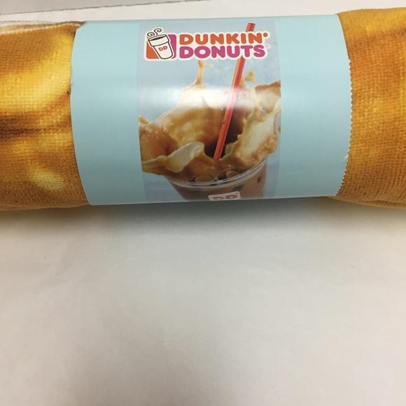 Dunkin' Bath Dunkin Donuts Beach Towel Poshmark