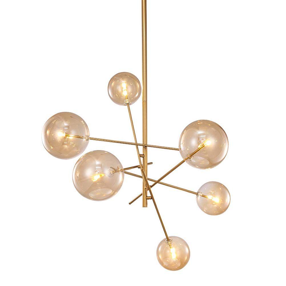 Axiu Moderne Kronleuchter Lampe Einstellbar Deckenleuchte