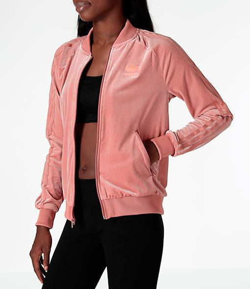 73bc792a73a Women's adidas Originals Velvet Vibes SST Track Jacket | Products ...