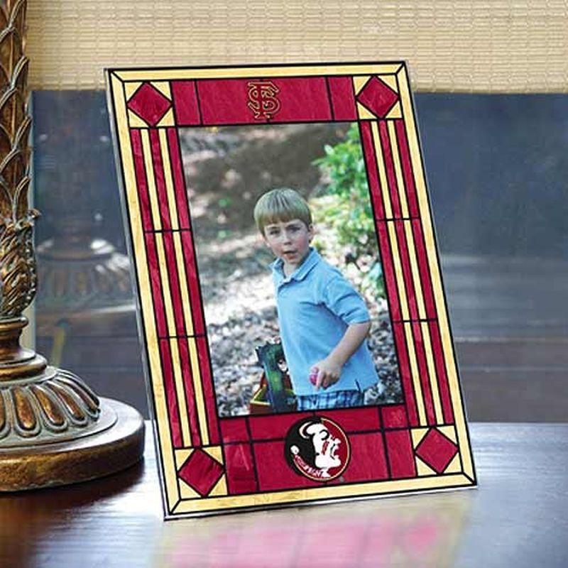 Florida State Seminoles (FSU) Art-Glass Picture Frame