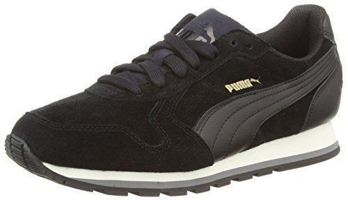 Oferta: 64.9€. Comprar Ofertas de Puma ST Runner SD - zapatilla deportiva de piel Unisex adulto, Negro (Black/Black 01Black/Black 01), 46 barato. ¡Mira las ofertas!