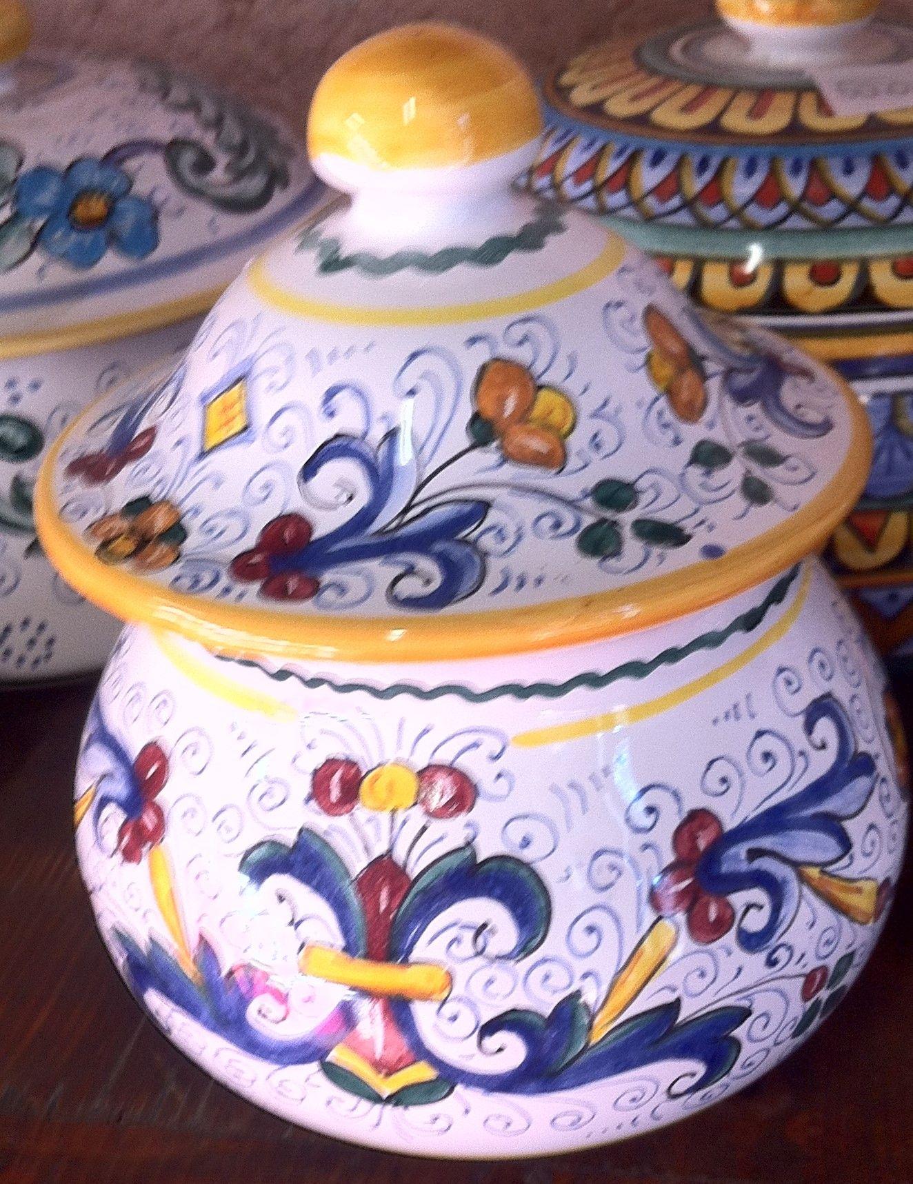 Porta Aglio Ricco Deruta | Ceramica e Decorazioni