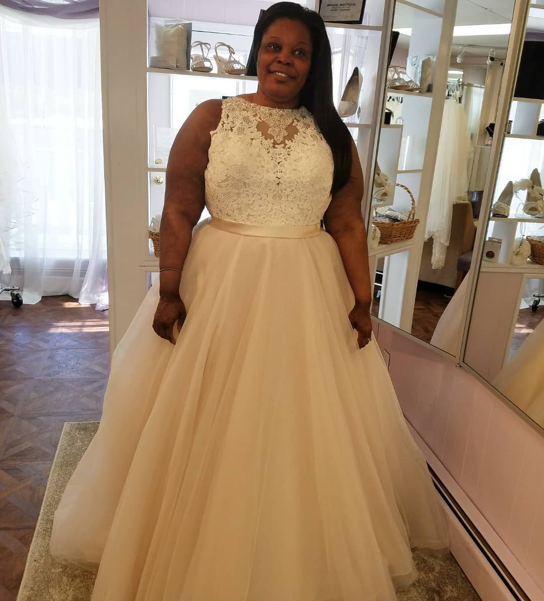 The newest custom bridal gowns curvy bride pinterest halter