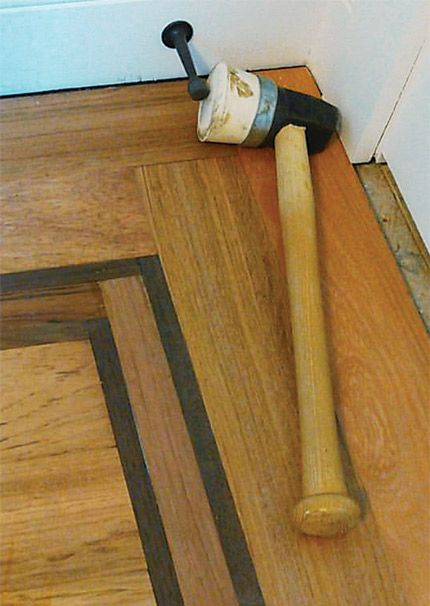 Trick Of The Trade Taking A Swing With Better Mallet Handle Floor Design