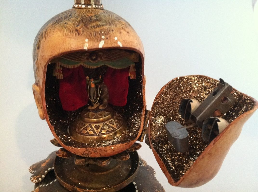 Altered Doll Heads - Imaginaries   Assemblage art dolls ...