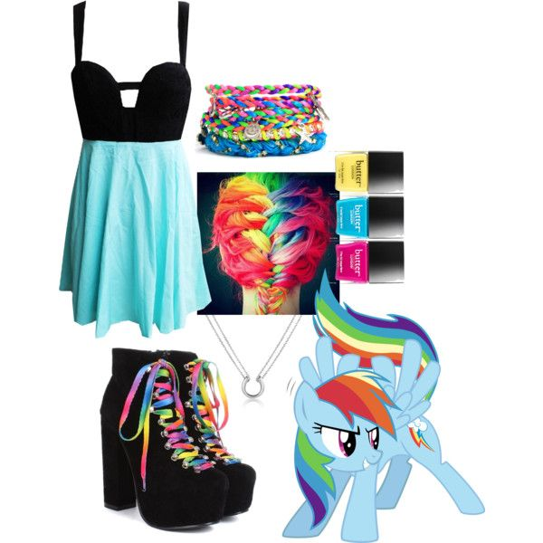 Mlp Fim Rainbow Dash By Fightsoftly On Polyvore Take My Advice Pinterest Rainbow Dash