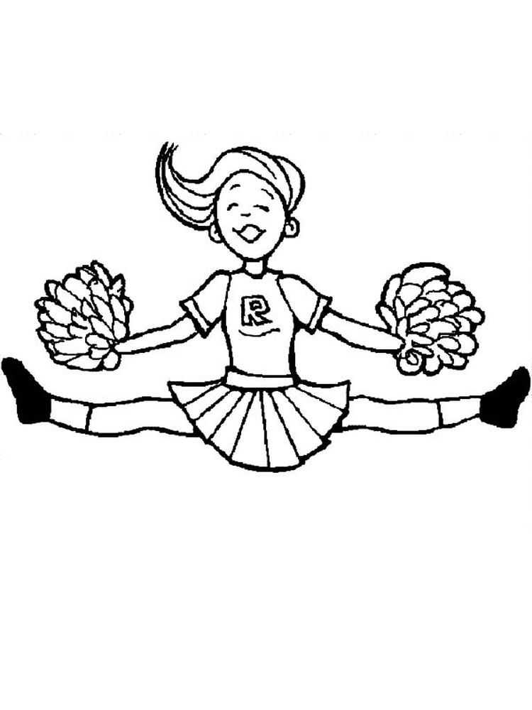 Lol Cheerleader Coloring Pages Printable Do You Like Watching