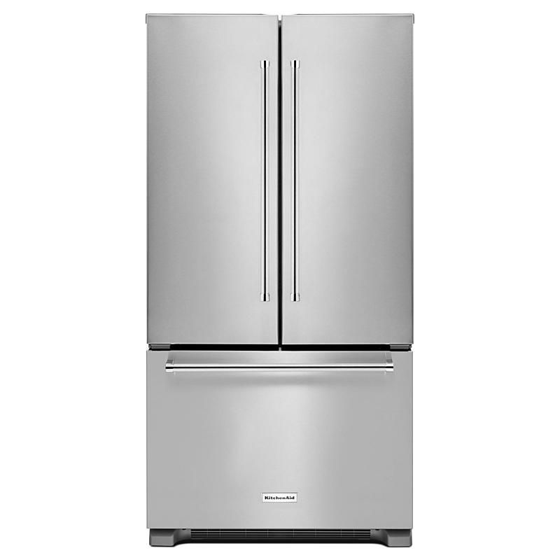 KitchenAid KRFC302ESS 22 cu. ft. Counter-Depth French Door Refrigerator - Stainless Steel