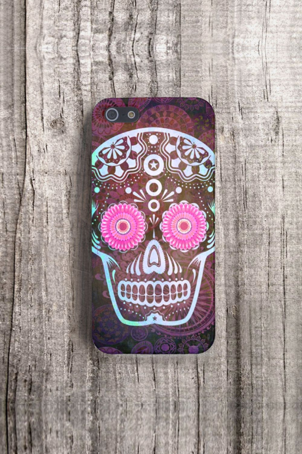 Sugar Skull case, available for iPhone 4/4S - 5/5S & Samsung Galaxy S3/S4 by CSERA