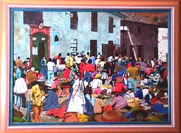 Le marché de Cuzco