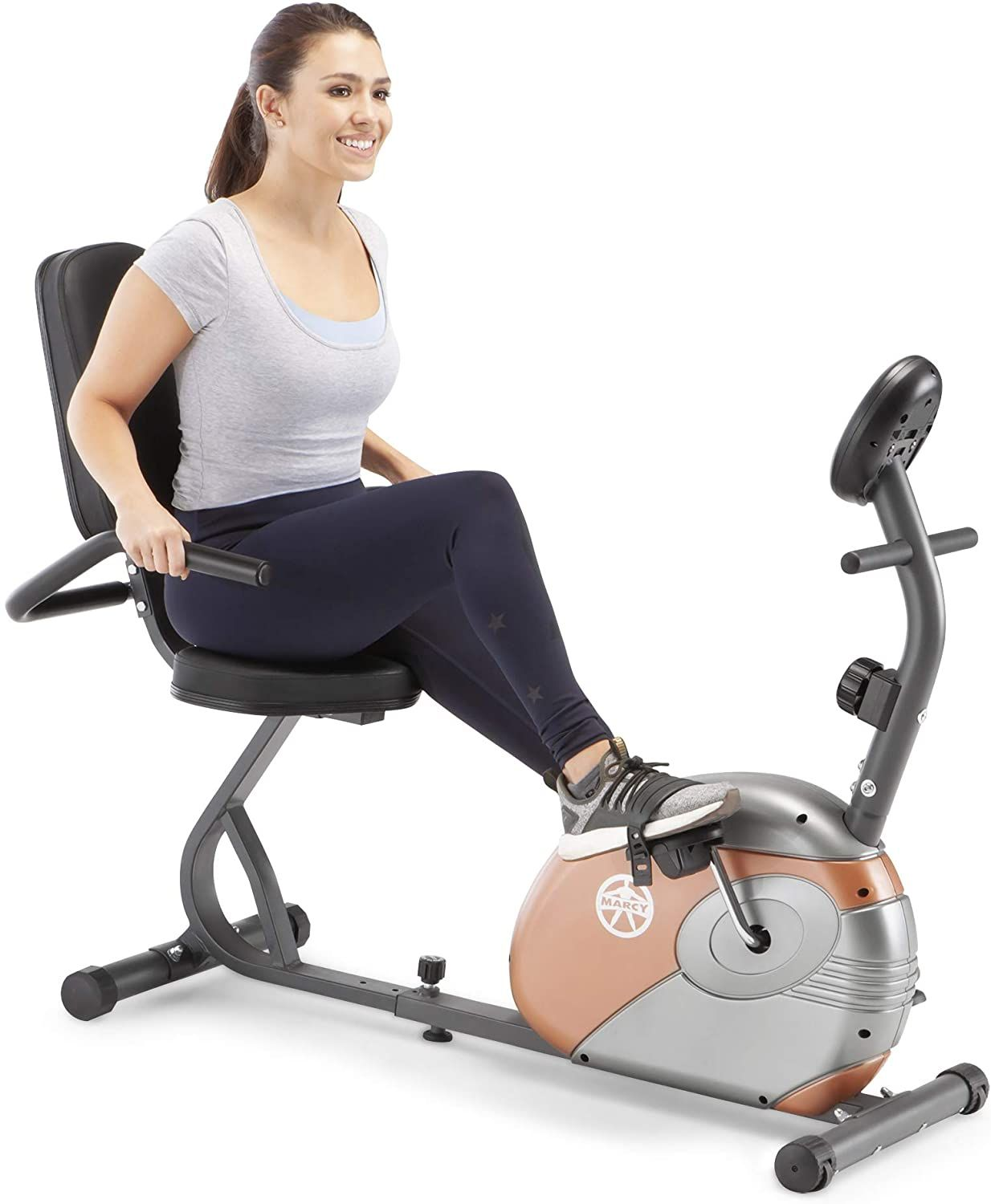 Marcy Recumbent Exercise Bike With Resistance Me 709 Review In 2020 Recumbent Bike Workout Biking Workout Best Exercise Bike