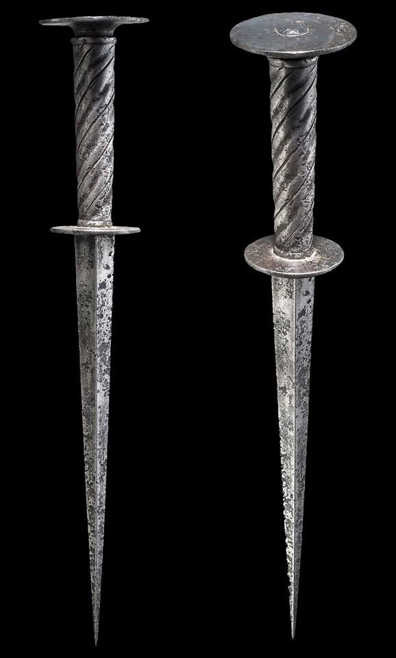 A German Roundel Dagger First Half Of The 16th Century Strong