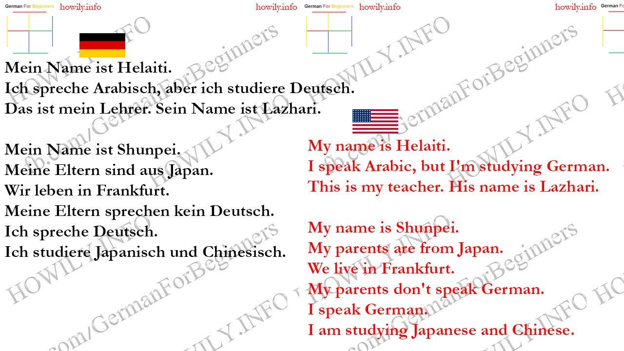 Lektion 11 Almanca Ogrenme Almanca