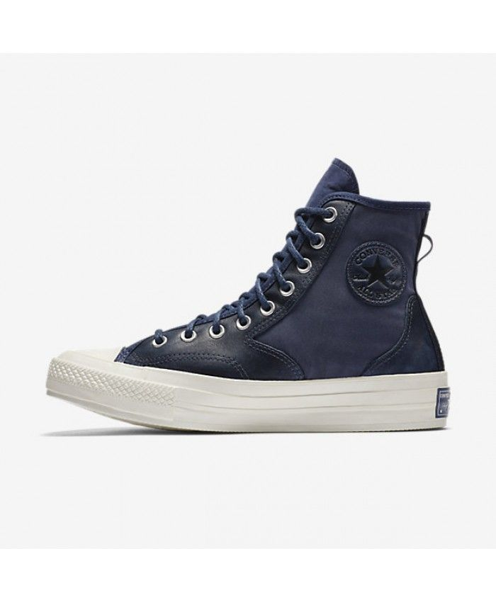 a1cda9fabeb4 Converse Chuck 70 Hiker Leather Nylon High Top Blue 157486C-406 ...