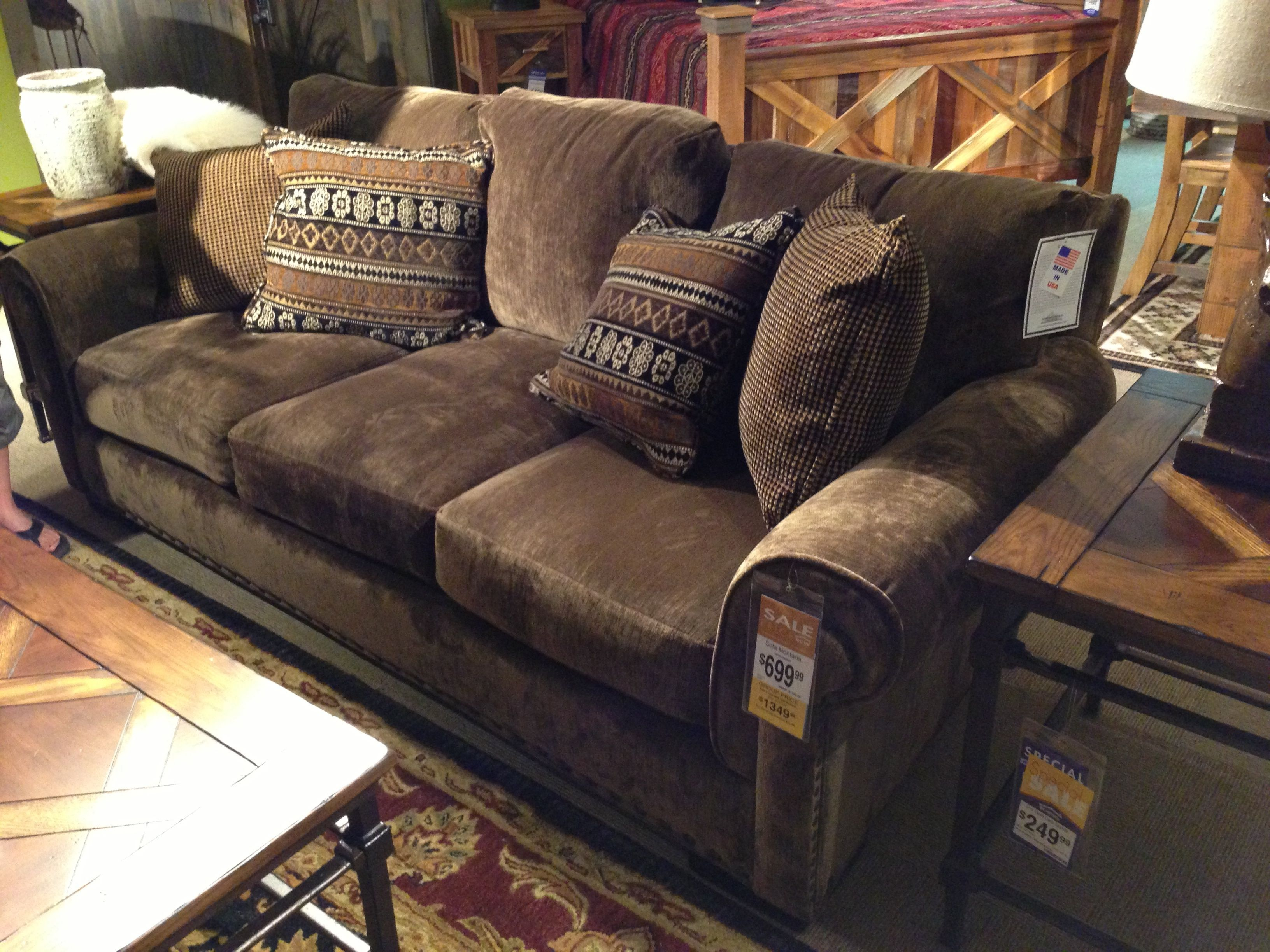 Inexpensive rustic couch My Flooring Color Match
