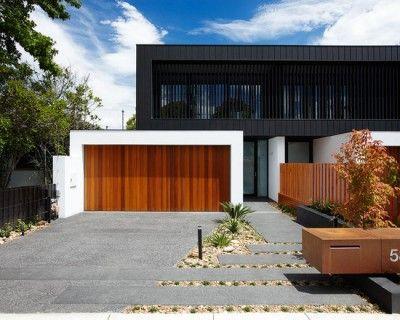 Materiales para fachadas de casas modernas exteriores - Materiales para fachadas exteriores ...