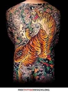 Tiger Tattoo Theres Also A Flower Called Lily Thats