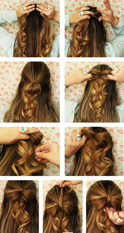 Penteados Simples Para Fazer Sozinha Hair Penteado