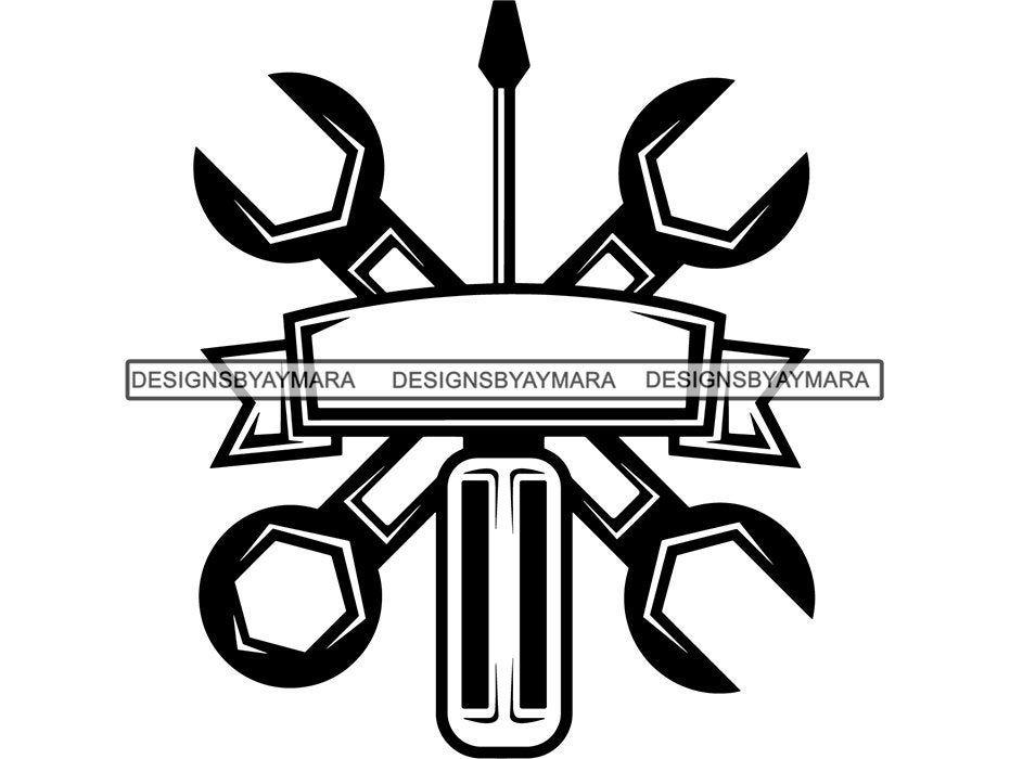 Handyman Tool Kit Set Symbol Design Vector Mechanic Toolbox Etsy In 2021 Mechanic Logo Design Symbol Design Mechanics Logo