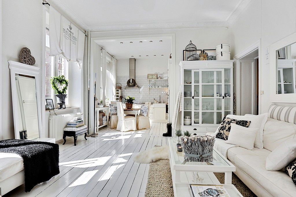 Квартира 58 кв.м. | Home design and decor | Pinterest | Living rooms ...