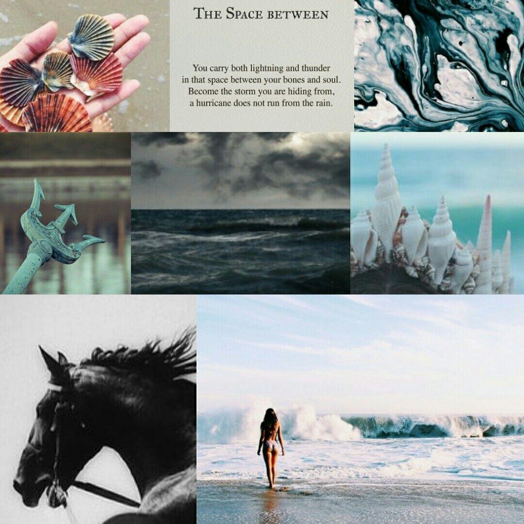 Daughter of Poseidon aesthetic....